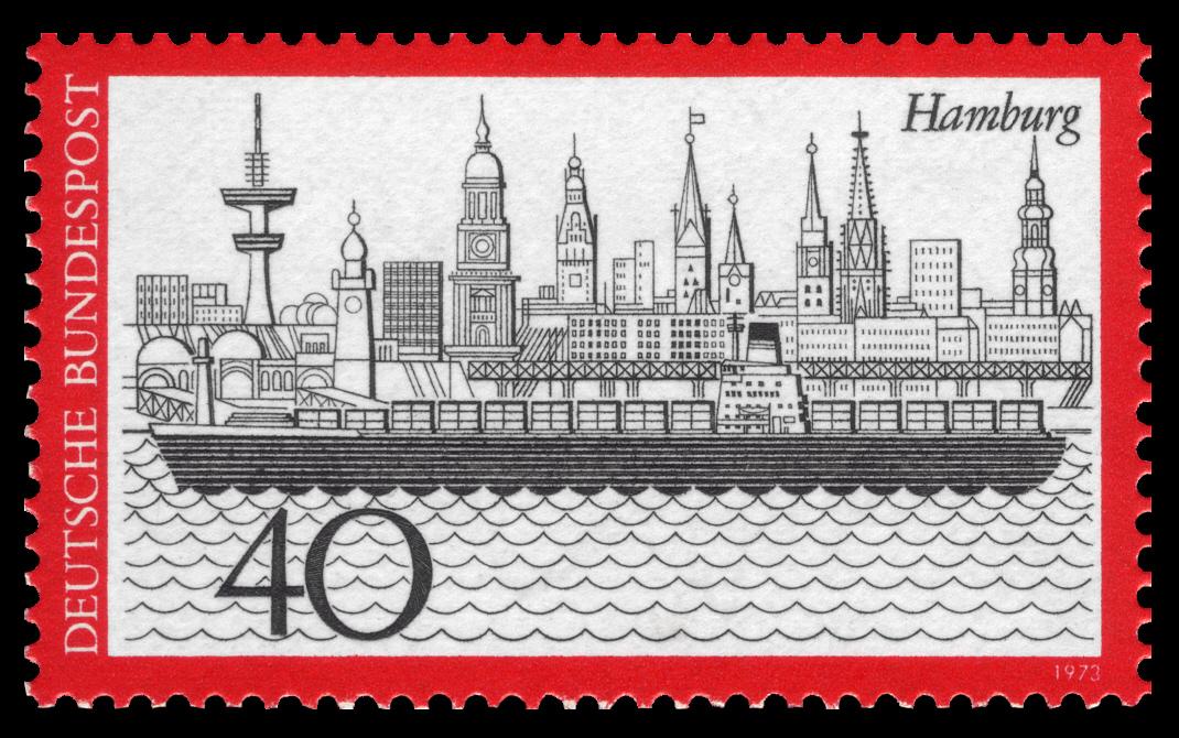 Bild von Hamburg: 40 Deutsche Mark