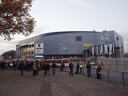 Bild von Hamburg: Blick auf die O2 World Hamburg aus Sicht der Imtech Arena
