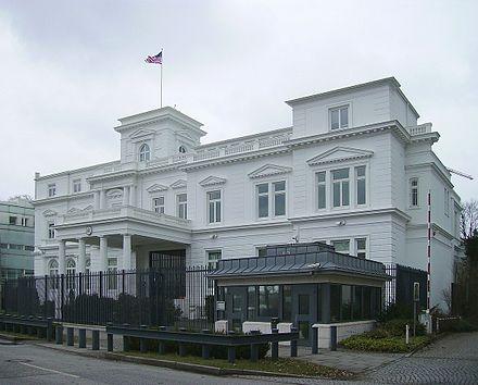 Bild von Hamburg: Amerikanisches Generalkonsulat, Alsterufer 27/28