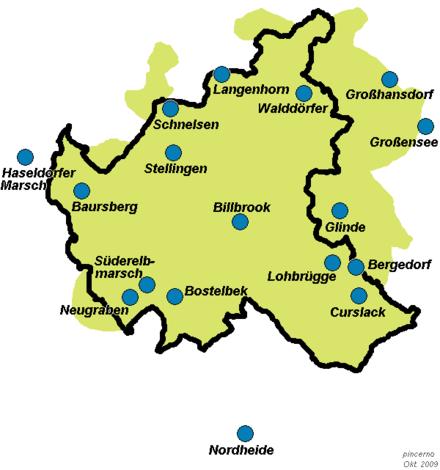 Bild von Hamburg: Wasserwerke Hamburg und Umland