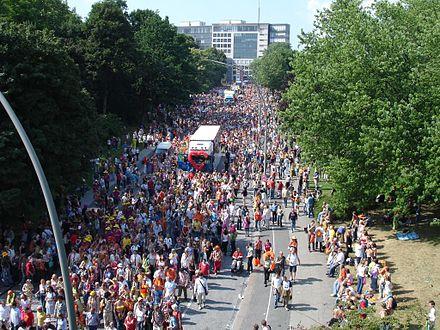 Bild von Hamburg: Schlagermove St. Pauli 2005