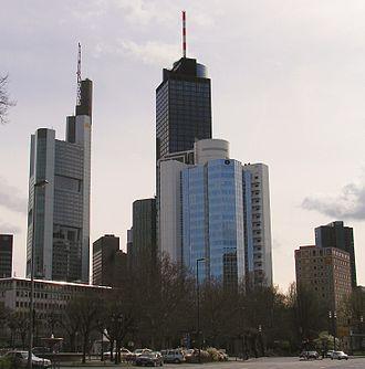 Bild von Hessen: Banken-Skyline in Frankfurt am Main