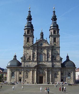 Bild von Hessen: Der Fuldaer Dom: Bischofssitz mit dem Grab des Bonifatius