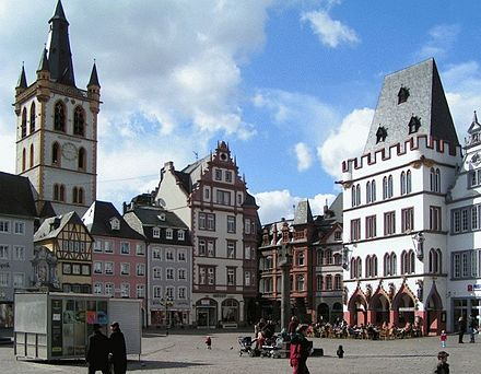 Bild von Trier: Hauptmarkt im Zentrum