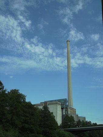 Bild von Saarbrücken: Kraftwerk Römerbrücke an der Saar