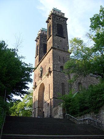 Bild von Saarbrücken: St. Michael mit Rotenbergtreppe