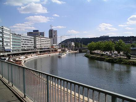 Bild von Saarbrücken: Am Saarufer
