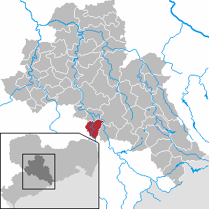 Karte von Augustusburg