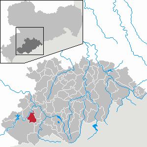 Karte von Bockau