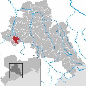 Karte von Burgstädt