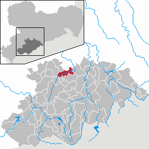 Karte von Burkhardtsdorf