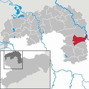 Karte von Cavertitz