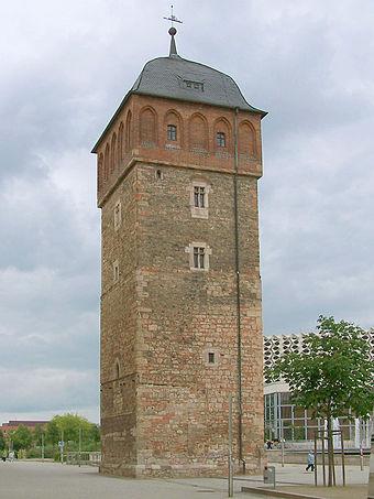 Bild von Chemnitz: Blick zum Roten Turm, dem Wahrzeichen der Stadt Chemnitz