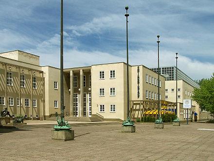 Bild von Chemnitz: Stadtbad, auch Denkmal der architektonischen Moderne