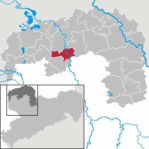 Karte von Eilenburg