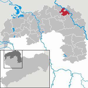 Karte von Elsnig