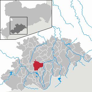Karte von Elterlein