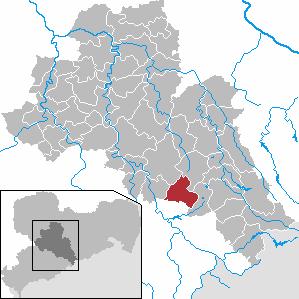 Karte von Eppendorf