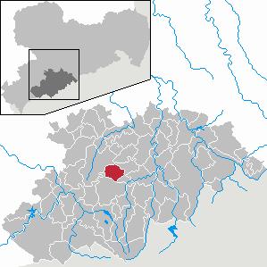 Karte von Geyer