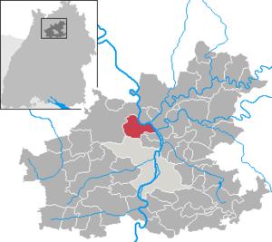 Karte von Bad Wimpfen
