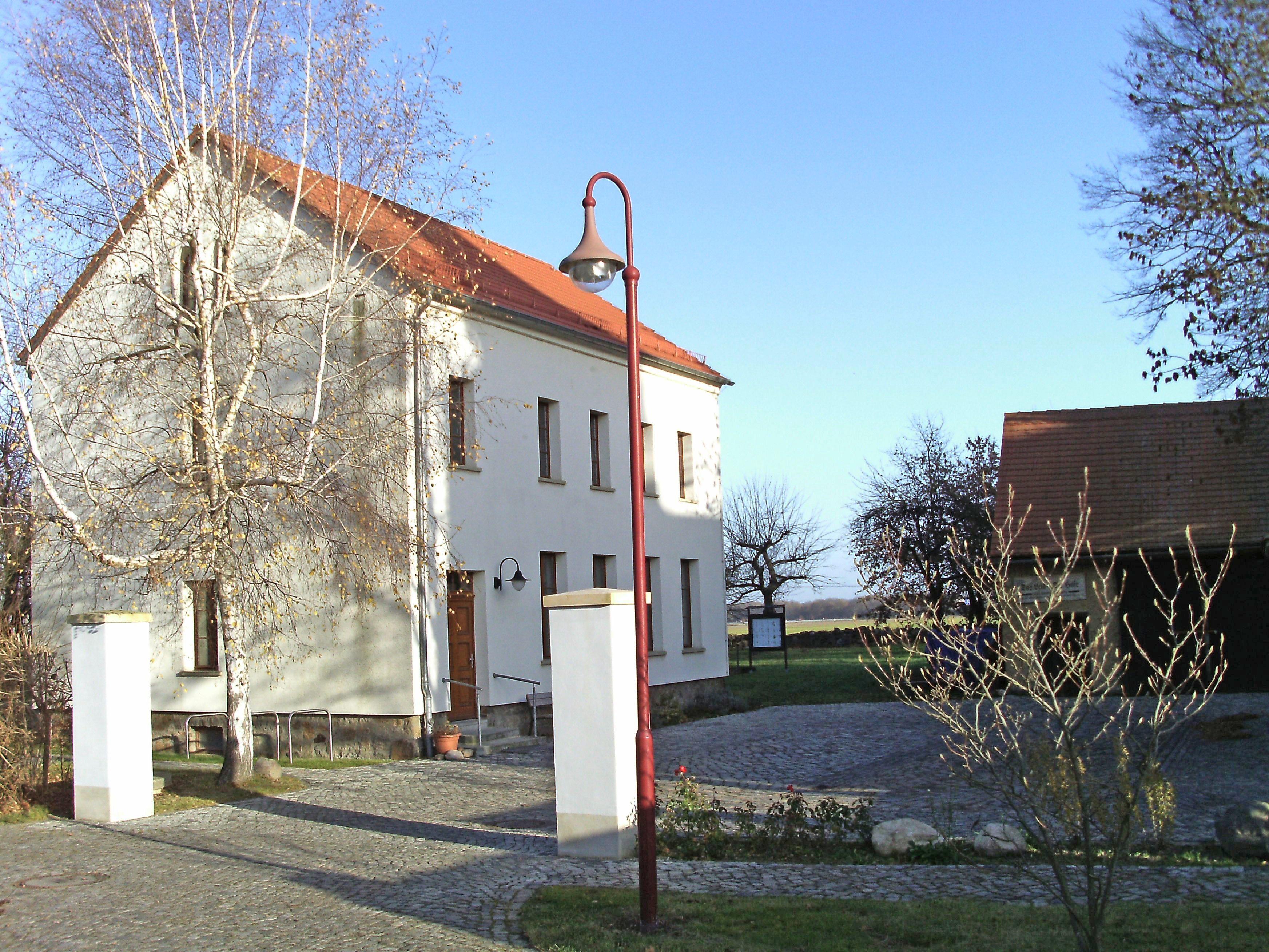 Bild von Großpösna: Ehem. Dorfschule von Seifershain, heute Sanitäts- und Lazarettmuseum