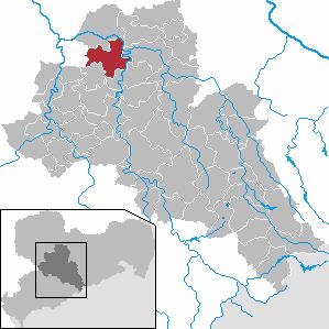 Karte von Hartha