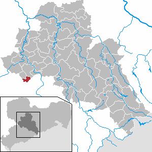 Karte von Hartmannsdorf (bei Chemnitz)