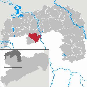 Karte von Jesewitz