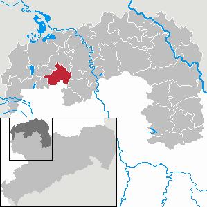 Karte von Krostitz