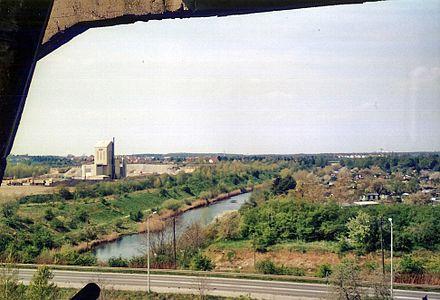 Bild von Leipzig: Beginn des Elster-Saale-Kanals in Leipzig