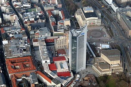 Bild von Leipzig: City-Hochhaus mit Augustusplatz