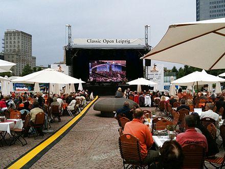 Bild von Leipzig: Classic Open auf dem Augustusplatz (2010)