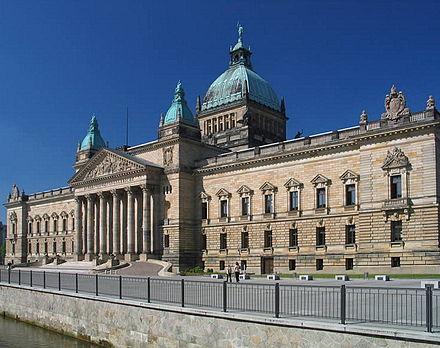 Bild von Leipzig: Reichsgerichtsgebäude (heute Sitz des Bundesverwaltungsgerichtes)