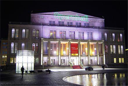 Bild von Leipzig: Leipziger Oper (zum Opernball am 30. Oktober 2004)