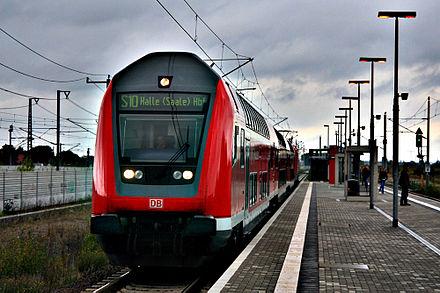 Bild von Leipzig: S-Bahn Leipzig-Halle