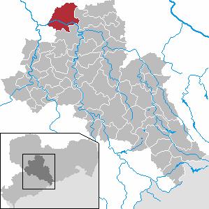 Karte von Leisnig