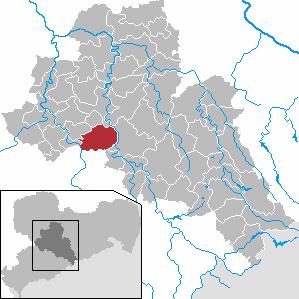 Karte von Lichtenau (Sachsen)
