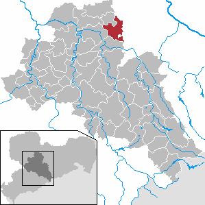 Karte von Mochau