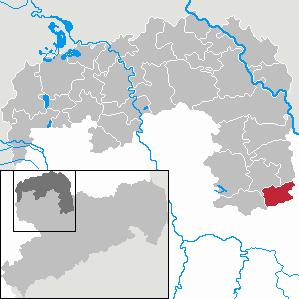 Karte von Naundorf (Sachsen)