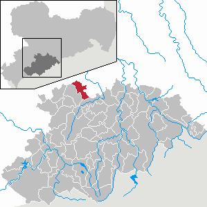 Karte von Neukirchen/Erzgeb.