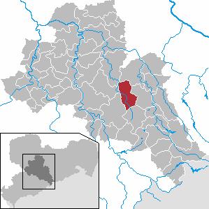 Karte von Oberschöna