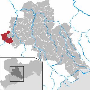 Karte von Penig