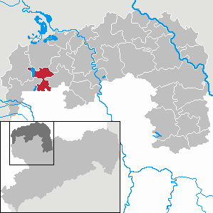 Karte von Rackwitz