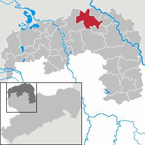 Karte von Trossin