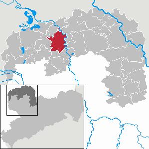 Karte von Zschepplin
