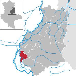 Karte von Biederitz