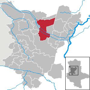 Karte von Haldensleben