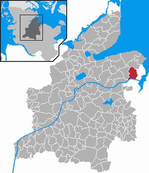 Karte von Altenholz