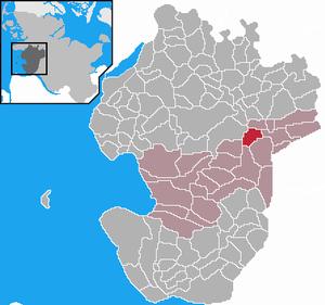 Karte von Arkebek