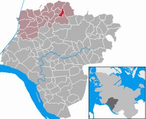 Karte von Christinenthal